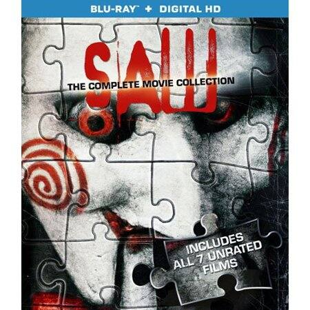 Saw: The Complete Movie Collection (Blu-ray + Digital HD