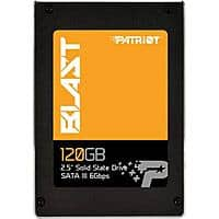 "120GB Patriot Blast 2.5"" SSD at Fry's Electronics for $  24.95 after $  13 rebate + Free Shipping + tax in some states"