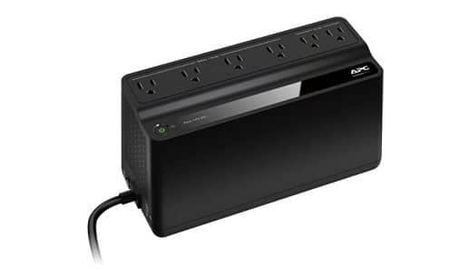 APC Back-UPS BN450M Battery Backup, 6 Outlet, 450VA/255W - Office Depot - $34.99 - Free Store Pickup