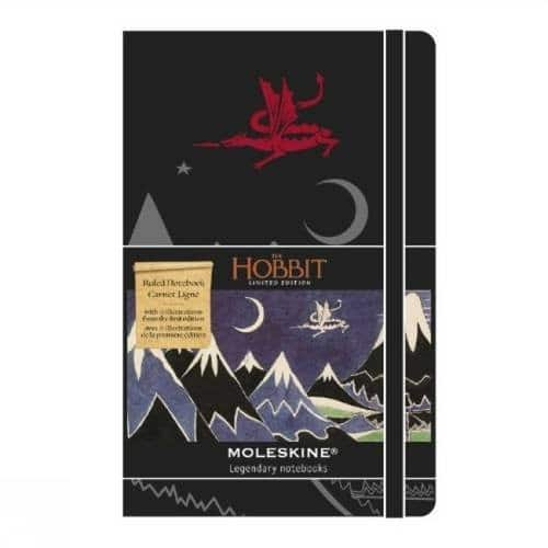 Moleskine The Hobbit Limited Edition Notebook, Pocket, Ruled, Black, Hard Cover (Limited Editions) (3.5 x 5.5) $6.54