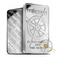 10 oz .999 Silver bars $0.29/oz over spot, no minimum, free shipping! @ Provident Metals