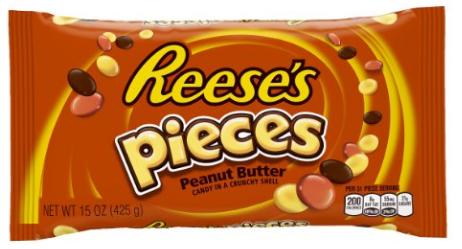 Reece's Pieces  (15 ounce Bag) as low as $2.39 S&S @ Amazon