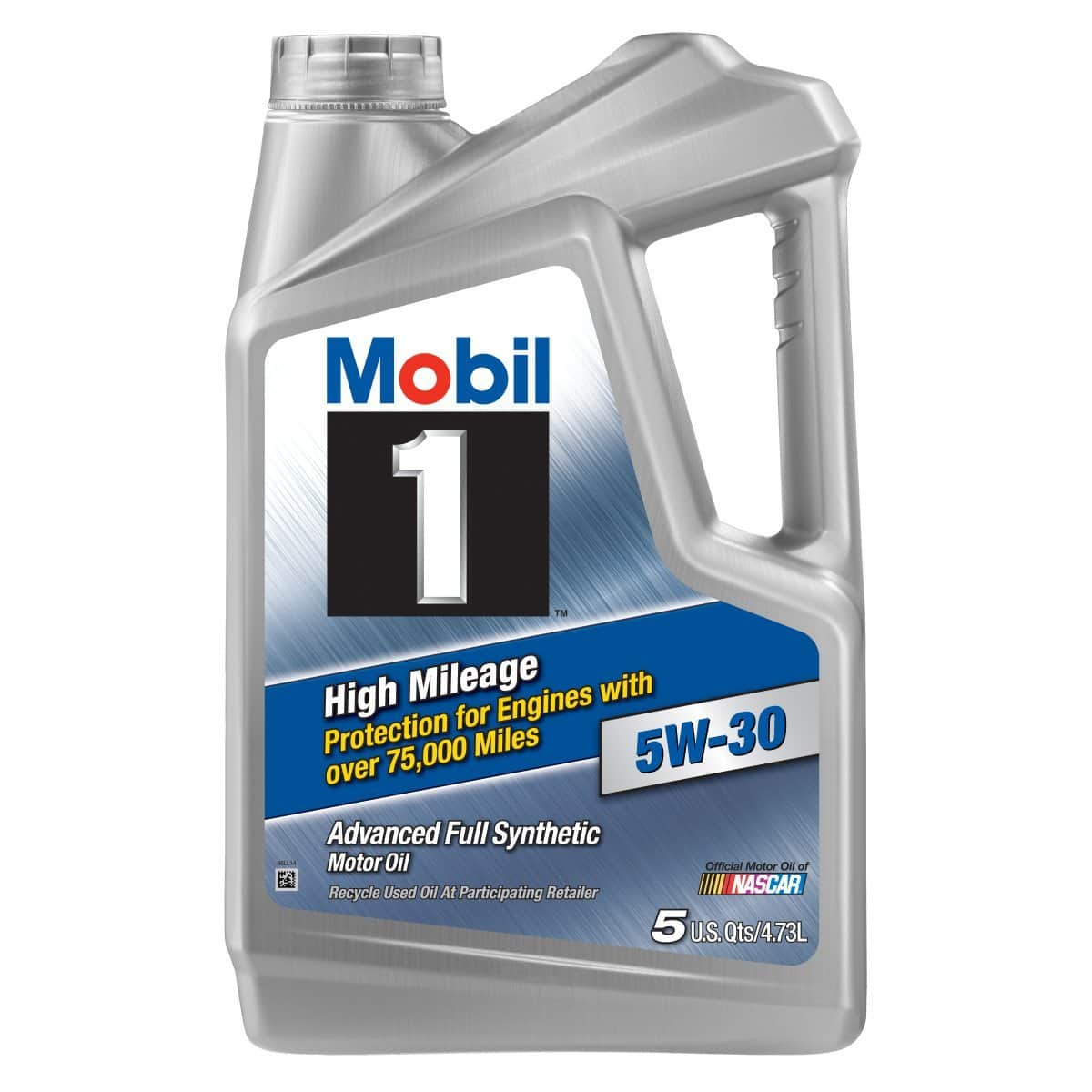 5 quart mobil 1 full synthetic extended performance for Weight of motor oil