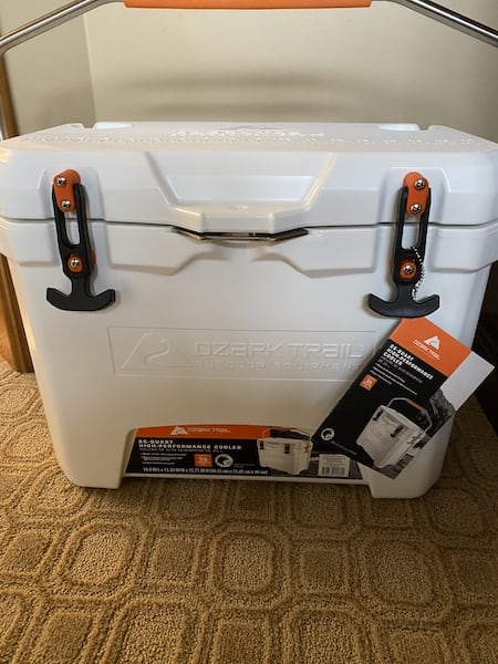YMMV Ozark Trail 26 qt molded cooler $44