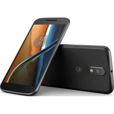 YMMV Motorola Moto G4 16GB Unlocked Smartphone - Black $49.00    Walmart
