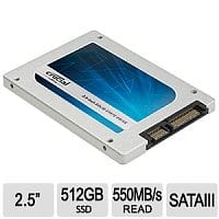 TigerDirect Deal: 512GB Crucial MX100 Series Internal Solid State Drive (SSD) - $198 AC + Free Shipping