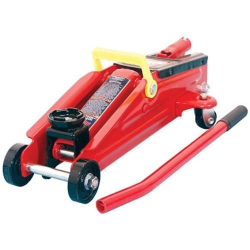 Prime Members Torin Big Red Hydraulic Trolley Floor Jack, 2 Ton Capacity $12.99