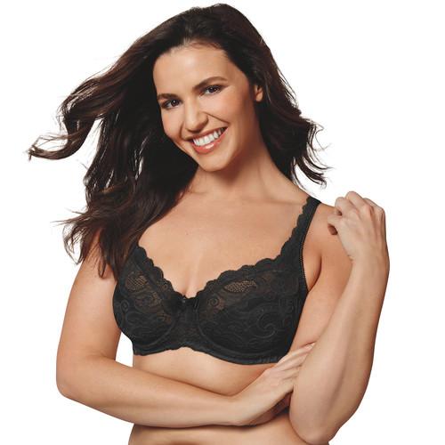 Playtex Bras: Love My Curves Beautiful Lace & Lift Full-Figure Underwire Bra  Free local pickup $13.59