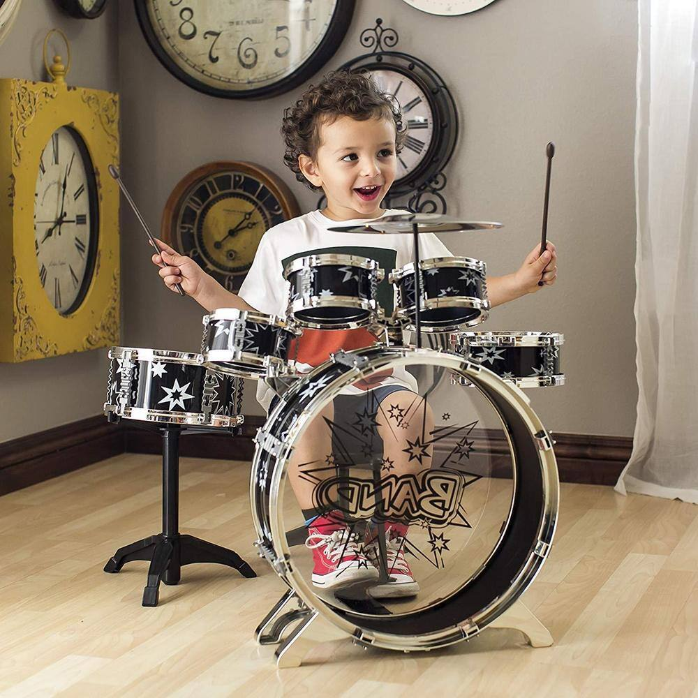 Kids 11-Piece Starter Drum Set for $24.99 + Free Shipping