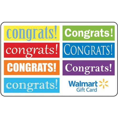$25 Walmart GIft Card for $10 + $6.97 Shipping = $16.97