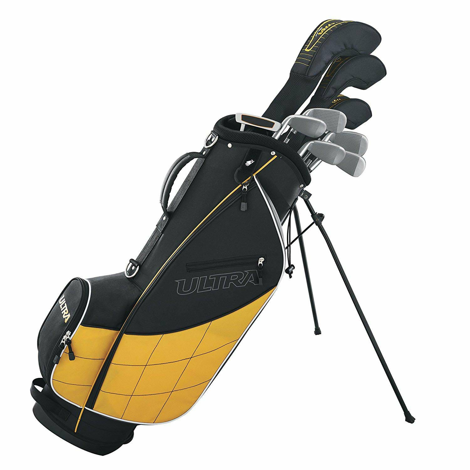 Wilson Ultra Men's Complete 13 Piece Right Handed Golf Club Set & Stand