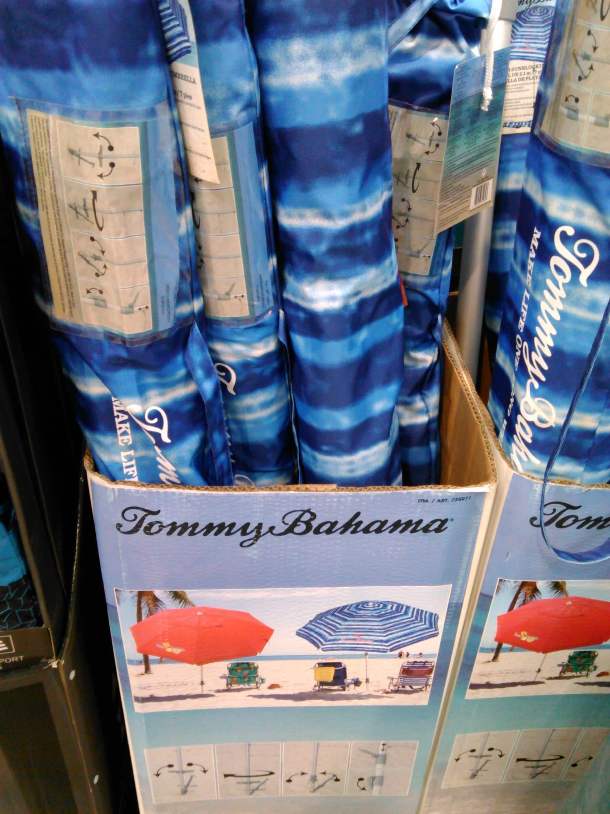Tommy Bahama 7 Foot Beach Umbrella 10 Costco In Store Only