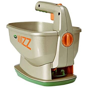 Scotts Wizz Battery-powered Hand-Held Spreader $14.89 at Amazon