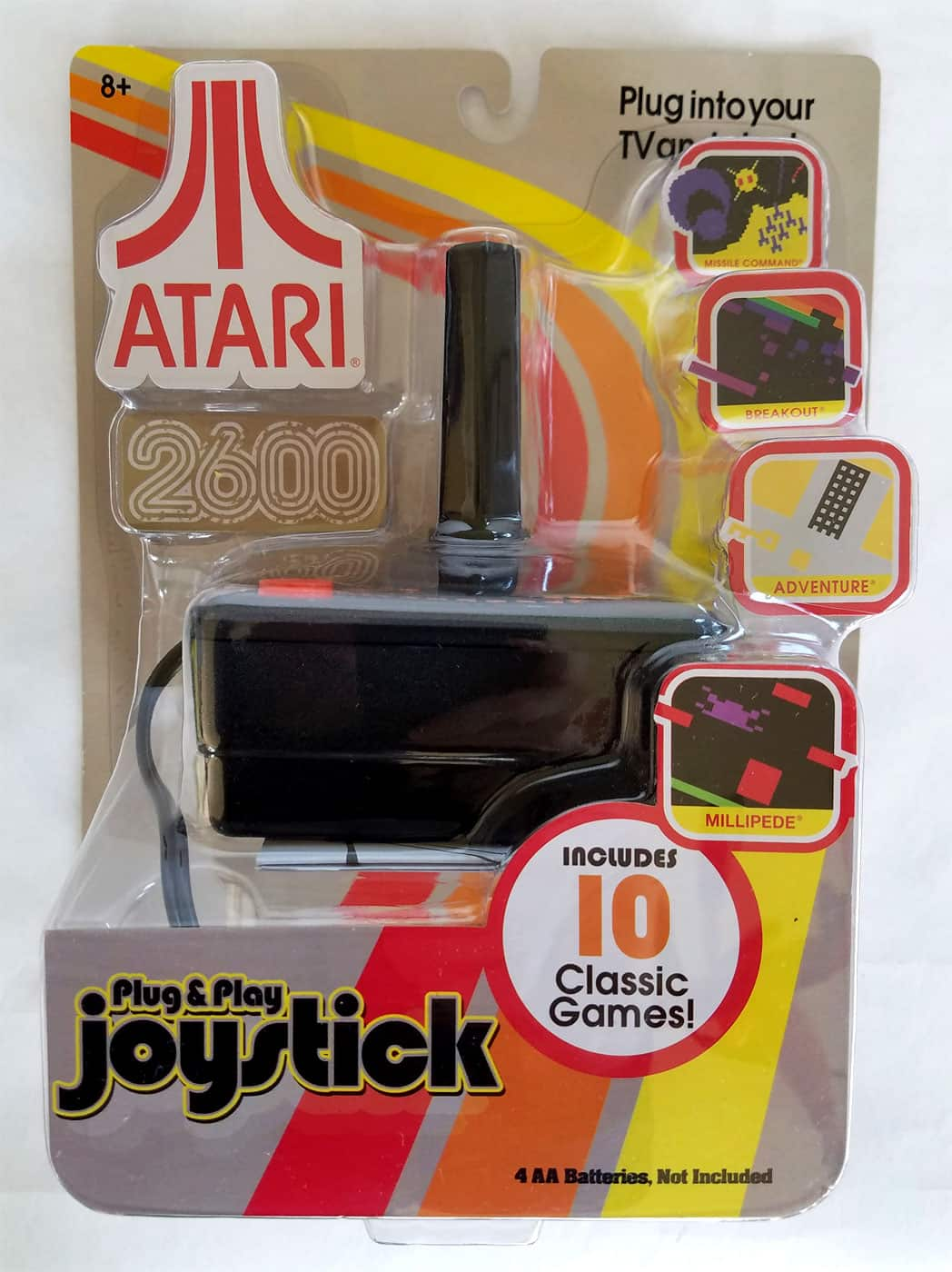 Atari 10-Game Plug & Play Joystick - $6.44 Clearance at Target - In-store Only YMMV