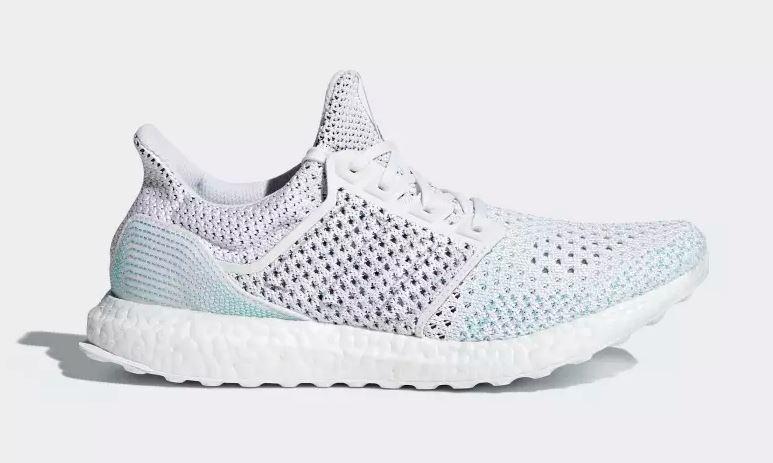 876bef19d adidas Men s Ultraboost Parley LTD Running Shoes (White Blue ...