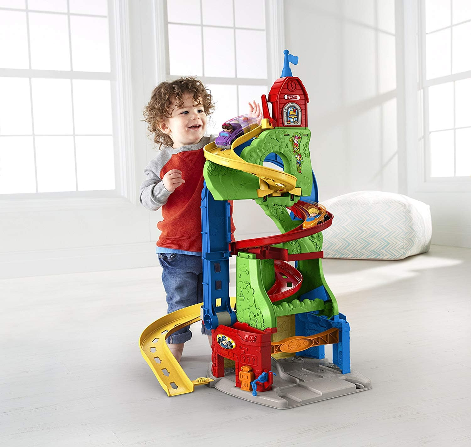 fisher price little people sit n stand skyway playset 1992