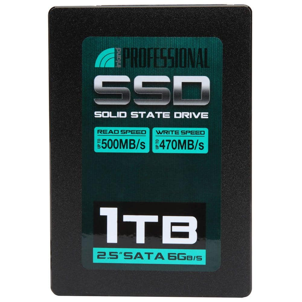 Inland 1TB 3D NAND SATA III SSD $89.99 at Microcenter