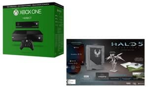 Refurbished Xbox One 500GB console with Kinect and Halo 5 limited edition $200 ($170 for new to Groupon)