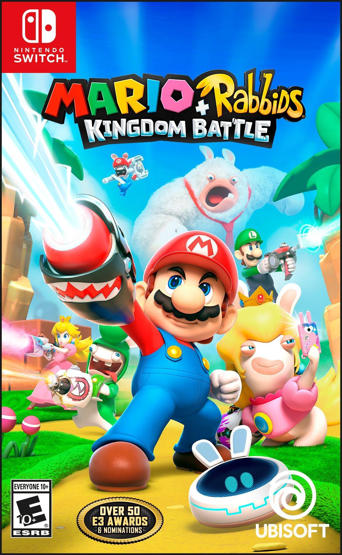 Mario Plus Rabbids Kingdom Battle $19.99
