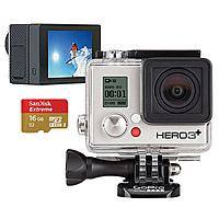 Best Buy Deal: GoPro Hero3+ Silver Edition Camera, GoPro LCD Touch BacPac & 16GB Memory Card 249.99 at Best Buy 11/25 Early Access