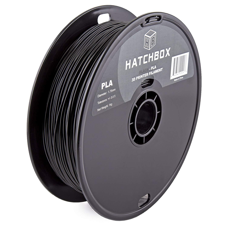 Hatchbox PLA Filament Black at Amazon 17.59 $17.59