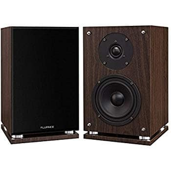 Fluance SX6W High Definition Two-Way Bookshelf Loudspeakers - Natural Walnut  - $79.97 + FS