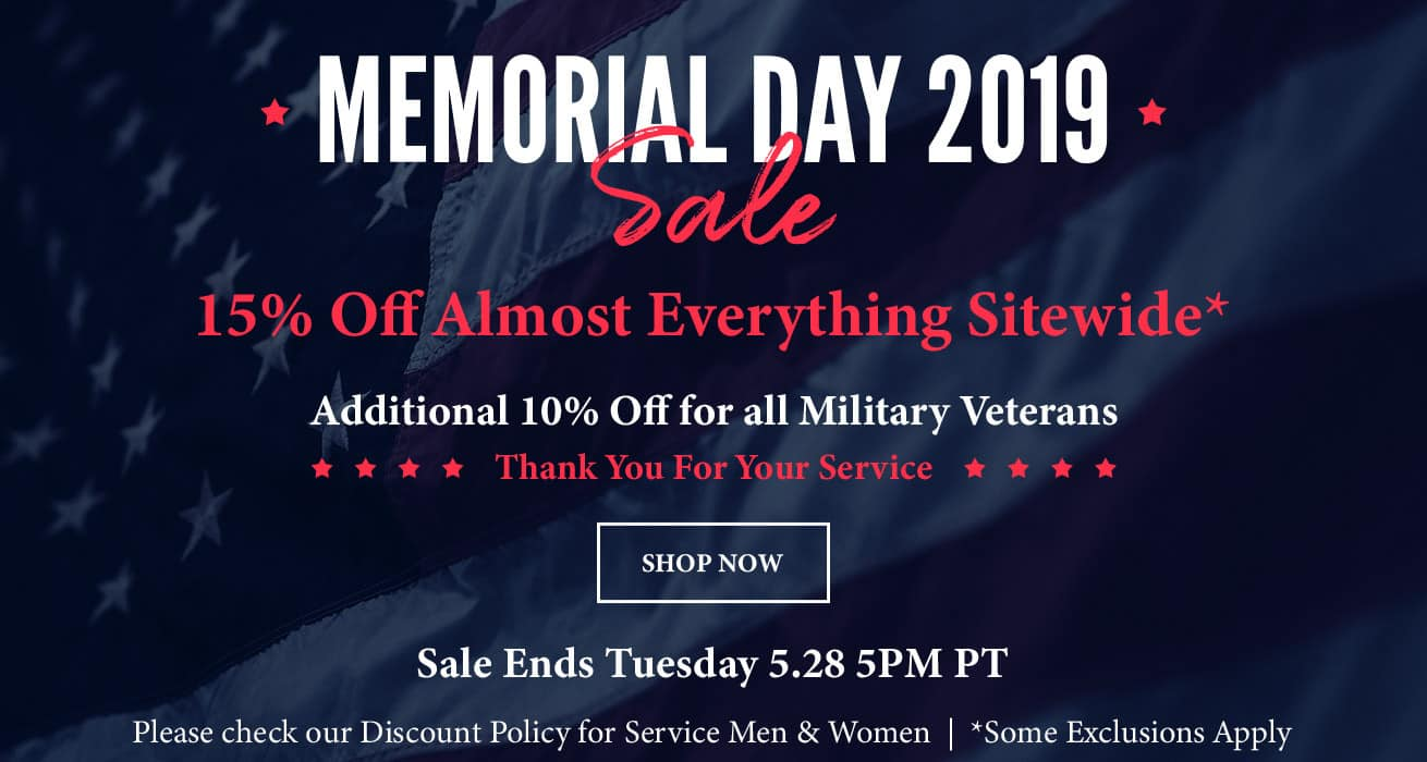 Tacklewarehouse com Memorial Day Sale - 15% off almost