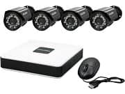 Newegg Deal: 4 surveillance cameras and DVR/Cloud Security System on NewEgg $89