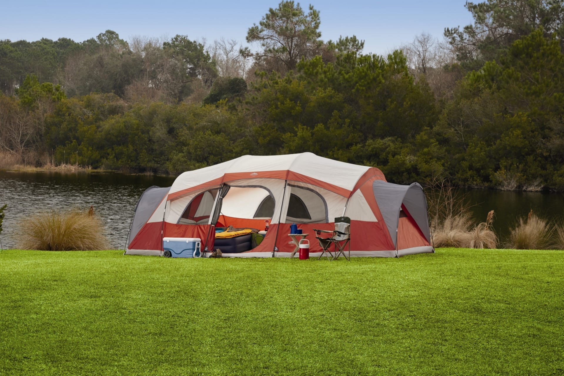 Northwest Territory The Homestead 3 room tent 21' x 14' for $99