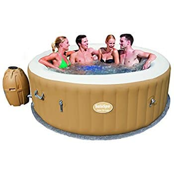 SaluSpa Palm Springs AirJet Inflatable 6-Person Hot Tub at Amazon for $295.99 - even lower than the last FP Deal!
