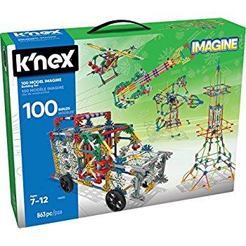 K'NEX 100 Model Building Set – 863 Pieces – 25.99 $25.99