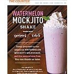 The Counter - Buy One Watermelon Mockjito Milkshake, Get One Free through August 31, 2015