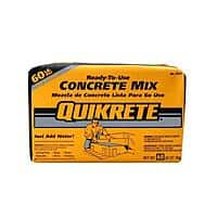 Home Depot Deal: 60 lb. Bag of Quikrete Concrete Mix $2 at Home Depot - In-store or Online with Free Store Pickup