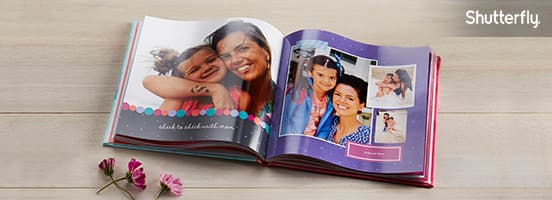 MCR Free 8x8 Shutterfly Photo Book + $8 Shipping When You Enter 1 Code by May 16, 2016