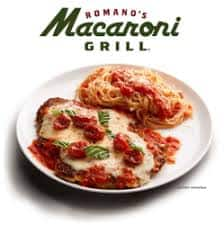 Macaroni Grill - Buy One Lunch, Get One Free, Today, Wed., October 18, 2017