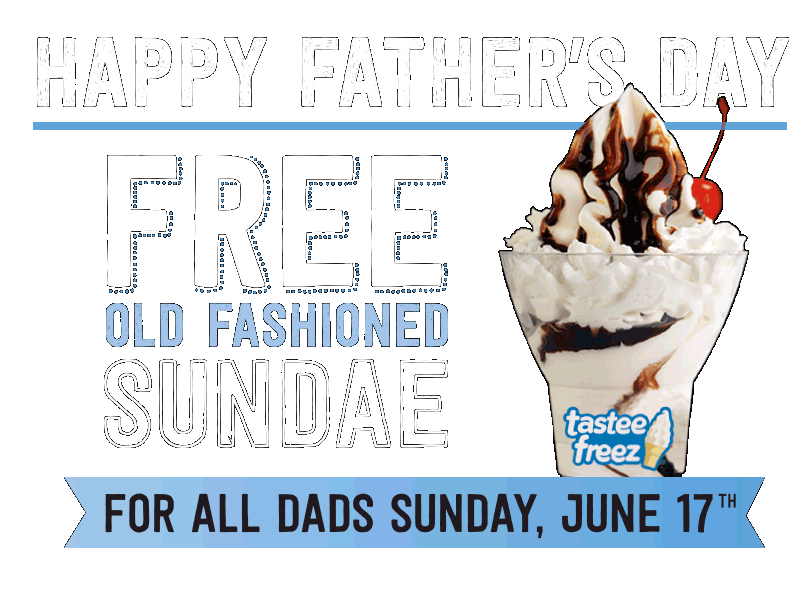 Wienerschnitzel Free Sundae For Dads On Fathers Day No Purchase