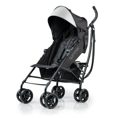 Summer Infant 3D Lite Stroller - Jet Black