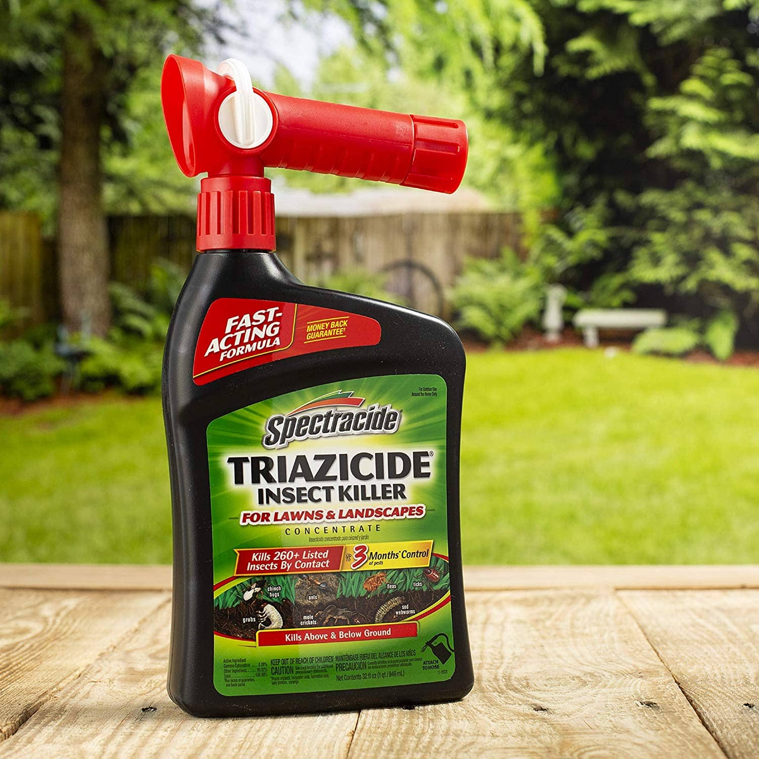 Spectracide Triazicide Insect Killer For Lawns & Landscapes Concentrate, Ready-to-Spray, 32-Oz *via Amazon - It's an Add-on item *Same price at Walmart and Home Depot