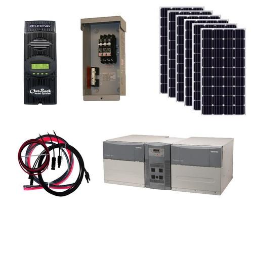 Grape Solar 1,080-Watt Off-Grid Solar Generator Kit $2899 @  Sam's Club