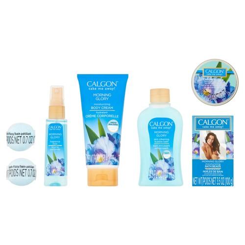 Calgon Morning Glory Bath Gift Set, 7pcs $5.98