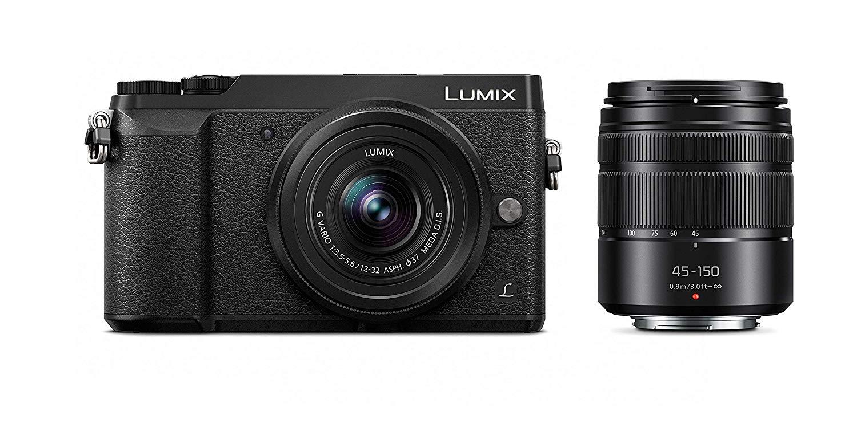 PANASONIC LUMIX GX85 4K Digital Camera, 12-32mm and 45-150mm Lens Bundle $497.99