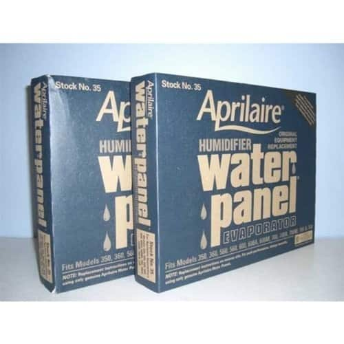 Aprilaire 35 Humidifier Water Panels 2 for $15