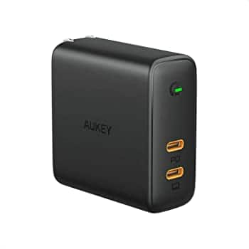 AUKEY USB C Wall Charger 60W Power Delivery 3.0 $24