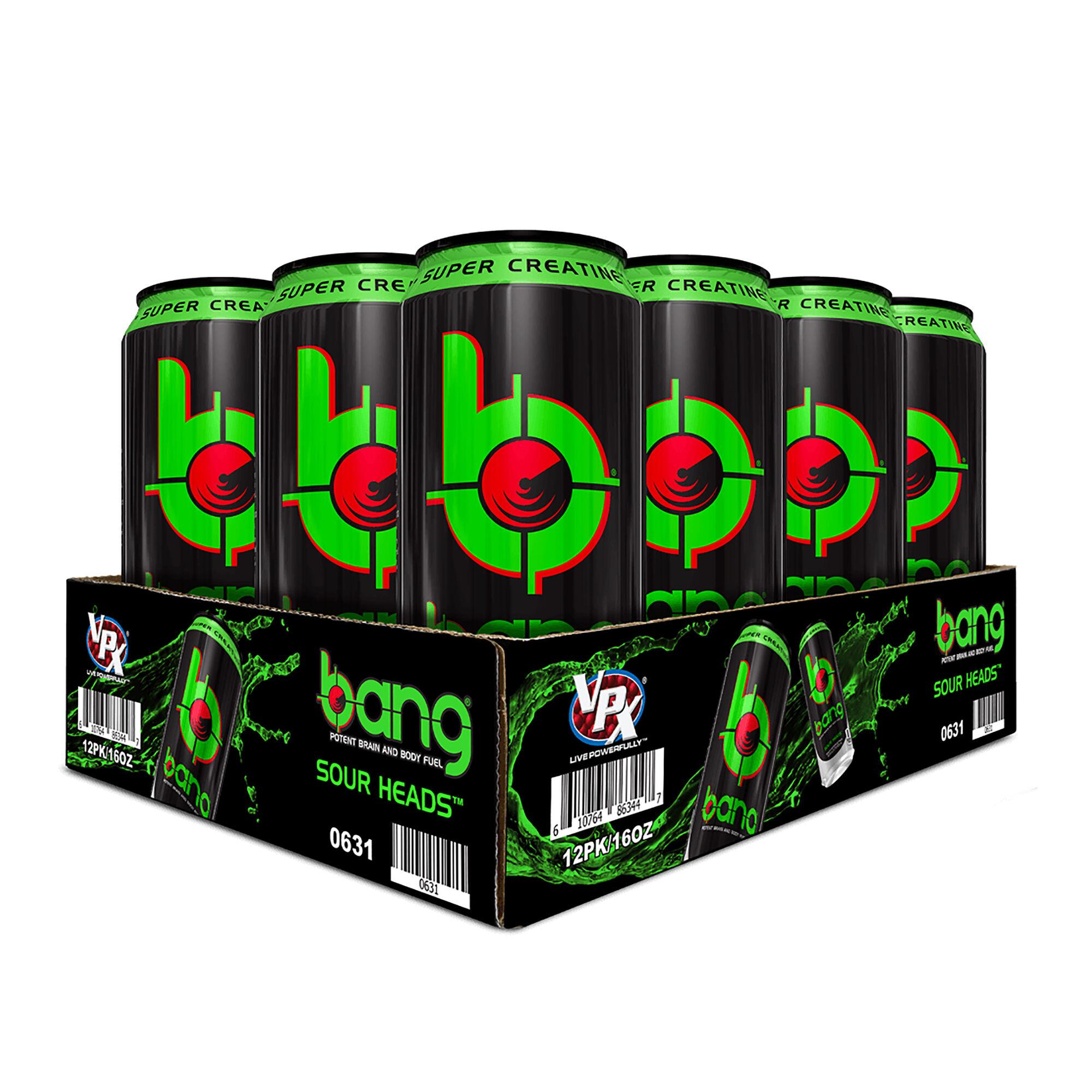 BANG BOGO 50% Off + $40 GNC Cash with $100 Spent ($1.21 per can w/ GNC Cash)