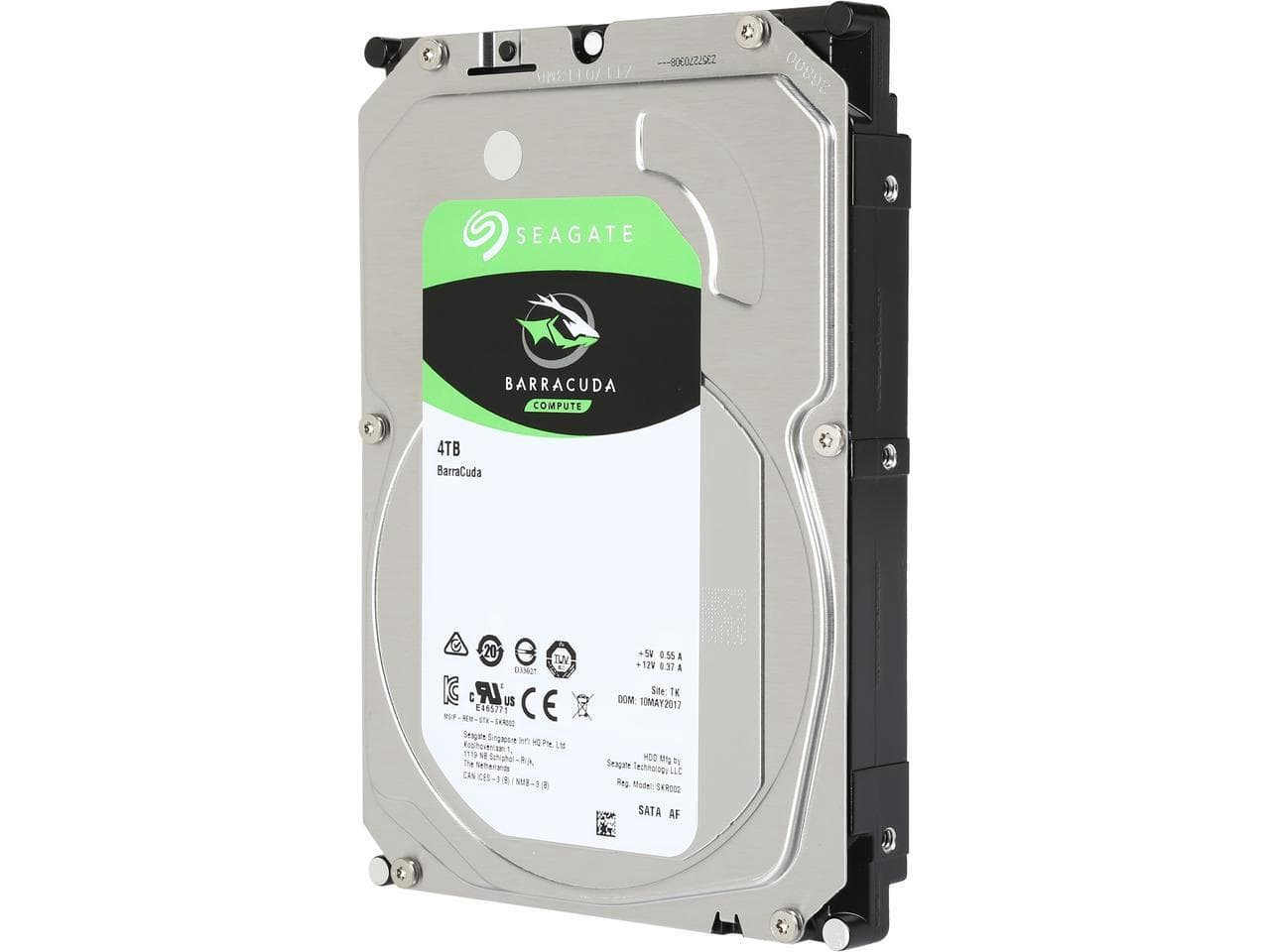 "Seagate BarraCuda ST4000DM004 4TB 256MB Cache SATA 6.0Gb/s 3.5"" Hard Drives $89.99"