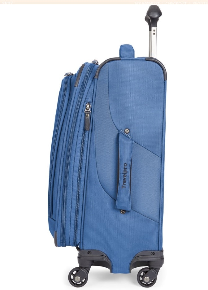 Luggage Factory Travel Pro Maxlite 4 (Blue) clearance + 20% Off Code