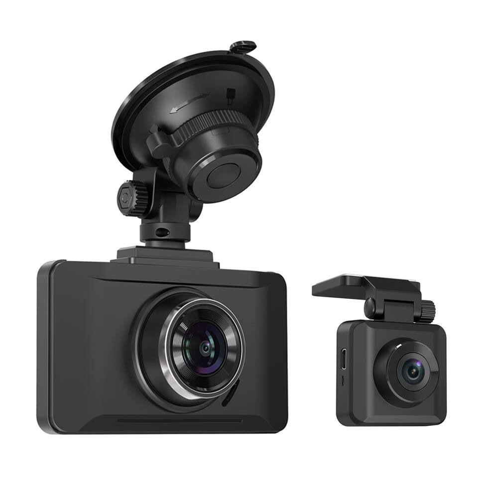 TaoTronics Dual Front and Read Dash Cams 1080P FHD with Night Vision and Sony Sensors for $77.99