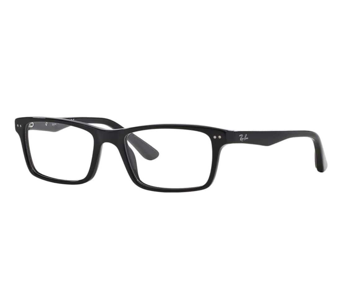 $20 OFF Ray-Ban RB5288-2000 Rectangular Unisex Full Rim Eyeglasses for $59.99 + Free Shipping