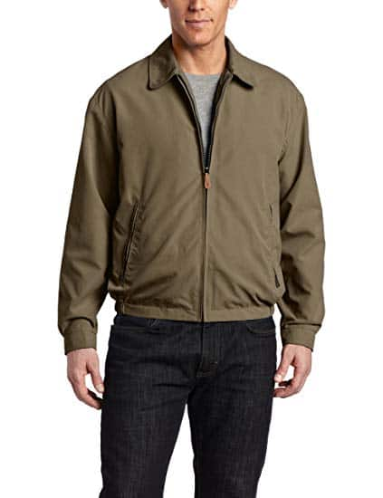 London Fog Men's Zip-Front Golf Jacket (Color: Olive) For $19.98 @ amazon