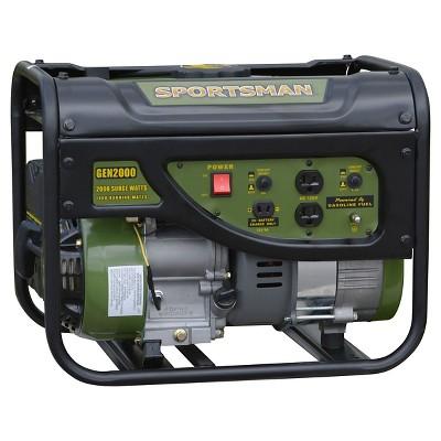 Sportsman Gasoline 2000 Watt Portable Generator $149.99 + FS @ Walmart